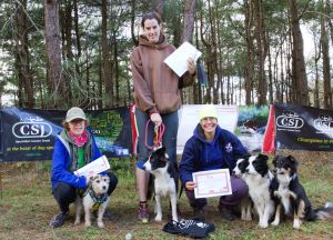 2 dog female winners