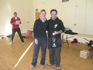 Andy Martin - Open Mens winner