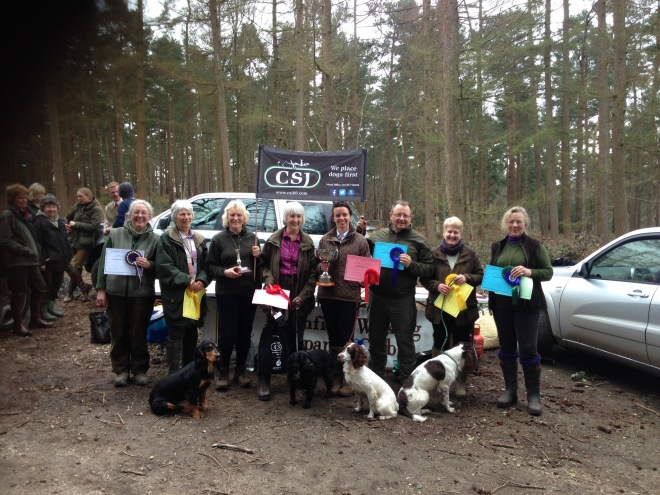 Leconfield Working Spaniel Club Spring test‏