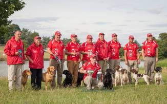 Winning Wales International Retriever Team 2016 - The Game Fair 2016 (1)