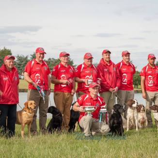 Winning Wales International Retriever Team 2016 - The Game Fair 2016 (1)
