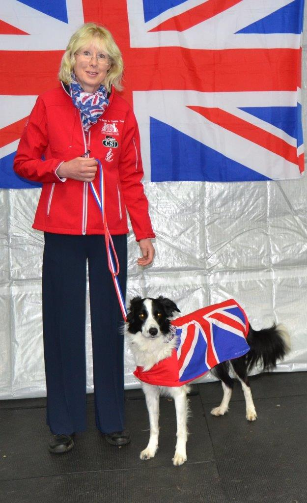Cathy Bates and Twinkle Competing in HTM and FS Reserve