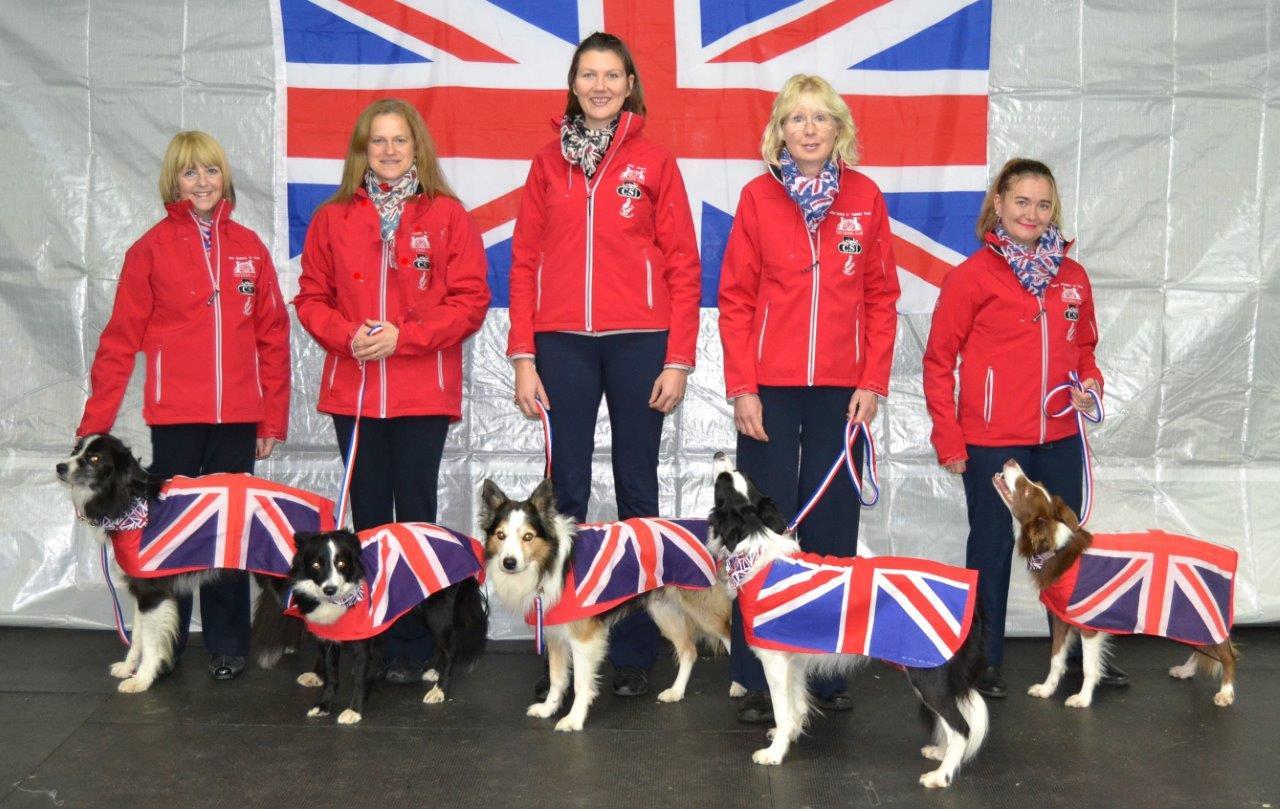 TEAM GB Dog Coats