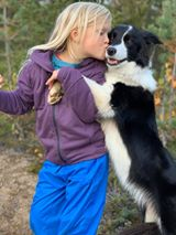 Åse Risberg - My daughter and her best friend Moel Stiili