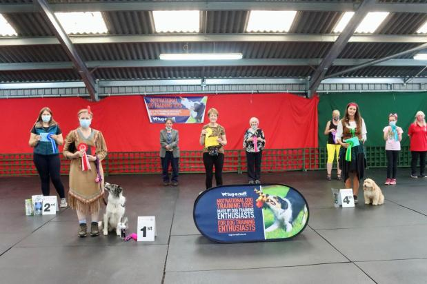 Results and class photos from the Canine Freestyle GB HTM Competition 11-12 September2021